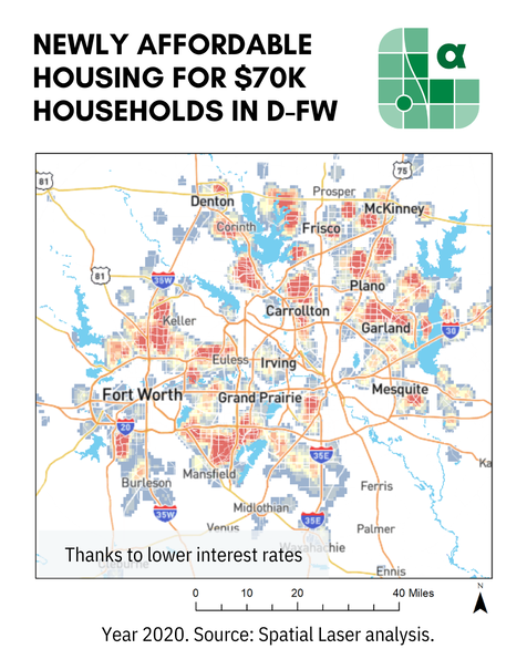 housing affordable in dallas fort worth